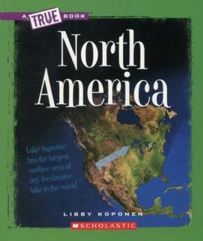 North America - Book  of the A True Book