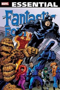 Essential Fantastic Four, Vol. 4 (Marvel Essentials) - Book  of the Essential Marvel
