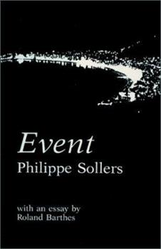 Event (Drame)  includes an essay by Roland Barthes (French Series) 0873760468 Book Cover
