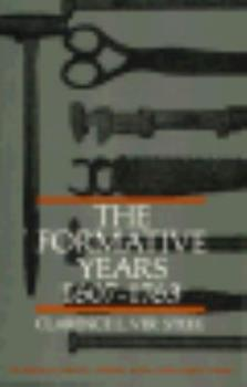 Formative Years 1607 1763 (Making of America) - Book  of the Making of America