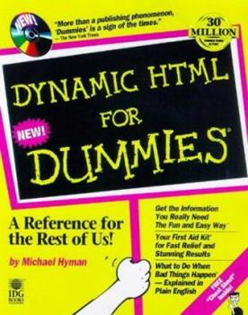 Paperback Dynamic Html for Dummies Book