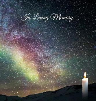 "Hardcover Funeral Guest Book, ""In Loving Memory"", Memorial Guest Book, Condolence Book, Remembrance Book for Funerals or Wake, Memorial Service Guest Book: HARD Book"