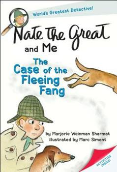 The Case of the Fleeing Fang (Nate The Great And Me) 0385326017 Book Cover