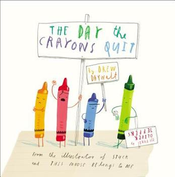 The Day the Crayons Quit - Book  of the Crayons