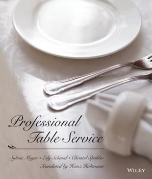 Professional Table Service 0471289264 Book Cover
