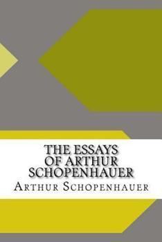 Parerga and Paralipomena  Short Philosophical Essays  TWO VOLUME     Quotes By Arthur Schopenhauer