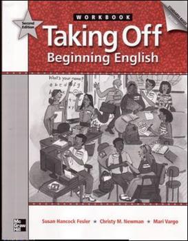 Paperback Taking Off, Beginning English, Workbook: 2nd edition Book