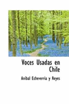 Paperback Voces Usadas en Chile Book
