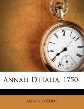 Paperback Annali D'Italia, 1750- Book