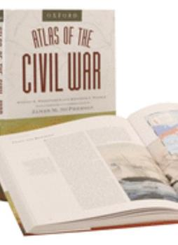 The Oxford Atlas of the Civil War 0195221311 Book Cover