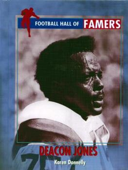 Deacon Jones (Football Hall of Famers) 0823936066 Book Cover