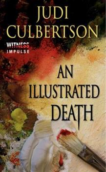 An Illustrated Death: A Delhi Laine Mystery 0062296345 Book Cover