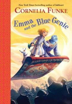 Emma and the Blue Genie 0385375409 Book Cover