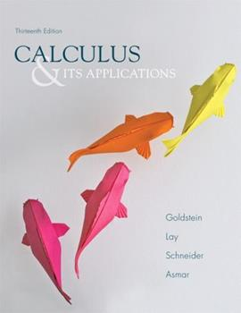 Calculus and its Applications 0131118803 Book Cover