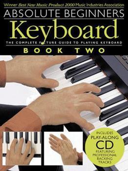 Paperback Absolute Beginners: Keyboard - Book 2 Book