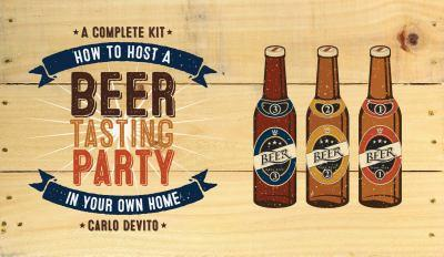 How to Host a Beer Tasting Party in Your Own Home 1631060856 Book Cover