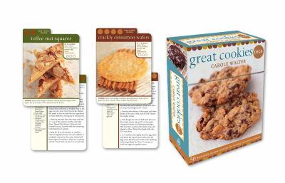 Great Cookies Deck: 50 delectable recipes and tips for making sensational sweets 0307408191 Book Cover