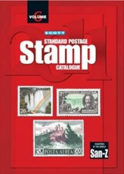 Countries of the World 2011: San-z (Scott Standard Postage Stamp Catalogue Vol 6 San-Z) 0894874535 Book Cover