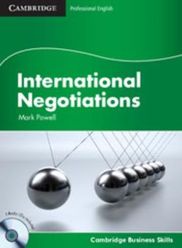International Negotiations - Book  of the Cambridge Business Skills