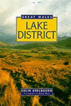 Hardcover Great Walks Lake District Book