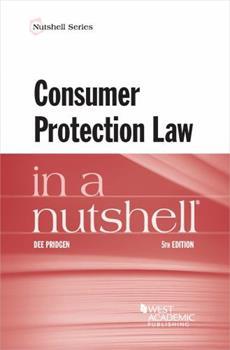 Paperback Consumer Protection Law in a Nutshell (Nutshells) Book
