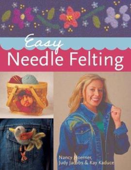 Paperback Easy Needle Felting Book