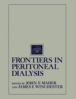 Paperback Frontiers in Peritoneal Dialysis Book