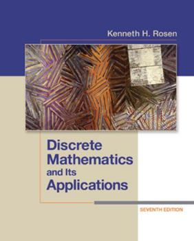 Discrete Mathematics and its Applications 0070539650 Book Cover