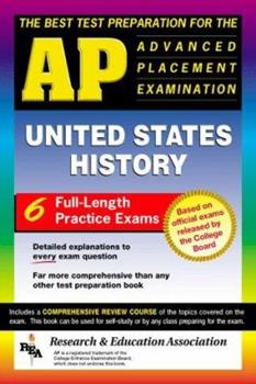 The Best Test Preparation for the AP United States History Test Preparations) 0878918442 Book Cover