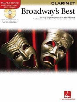 Paperback Broadway's Best for Clarinet Book