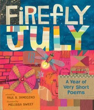 Firefly July A Year of Very Short Poems 0545863961 Book Cover