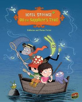 On the Sapphire's Trail - Book #2 of the Hotel Strange