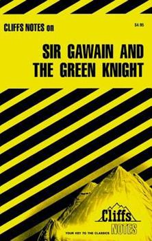 Sir Gawain and The Green Knight (Cliffs Notes) 0822005158 Book Cover