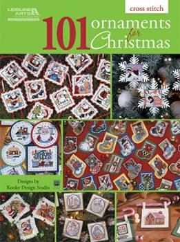101 Ornaments for Christmas (Leisure Arts #5849) 1464704090 Book Cover