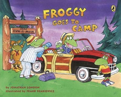 Froggy Goes to Camp - Book  of the Froggy