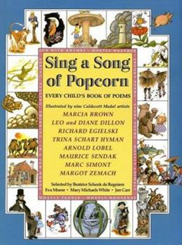 Hardcover Sing a Song of Popcorn: Every Child 's Book of Poems (hc): Every Child's Book Of Poems Book