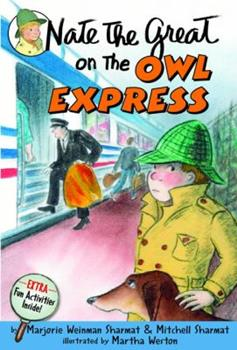 Nate the Great on the Owl Express 0440419271 Book Cover