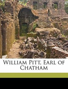 Paperback William Pitt, Earl of Chatham Book
