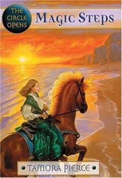 Hardcover Magic Steps (The Circle Opens, Book 1) Book