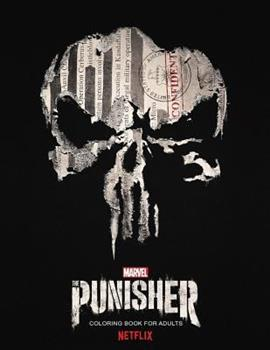 Paperback The Punisher: Coloring Book for Adults Book