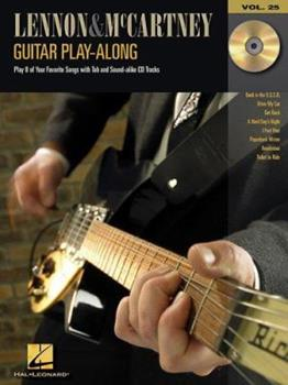Lennon and McCartney: Guitar Play-Along Volume 25 0634079220 Book Cover
