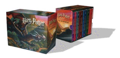 Paperback Harry Potter Paperback Boxset #1-7 Book