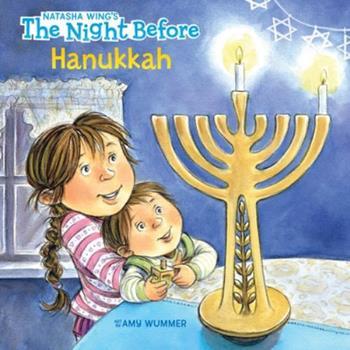 Paperback The Night Before Hanukkah Book
