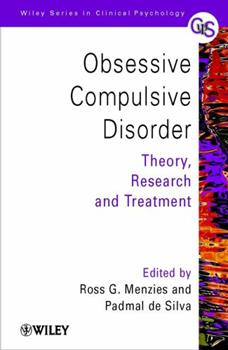 Paperback Obsessive-Compulsive Disorder: Theory, Research and Treatment Book