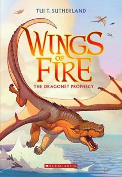 The Dragonet Prophecy 0545486033 Book Cover