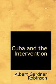 Paperback Cuba and the Intervention Book