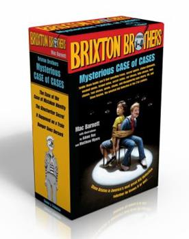 Brixton Brothers Mysterious Case of Cases: The Case of the Case of Mistaken Identity; The Ghostwriter Secret; It Happened on a Train; Danger Goes Berserk 1442498188 Book Cover