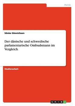 Paperback Der d?nische und schwedische parlamentarische Ombudsmann im Vergleich Book