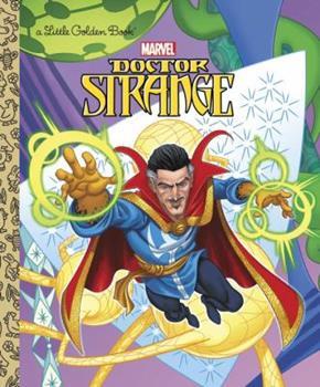 Hardcover Doctor Strange Little Golden Book (Marvel: Doctor Strange) Book