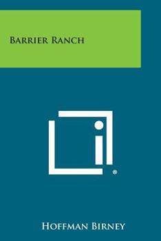 Paperback Barrier Ranch Book